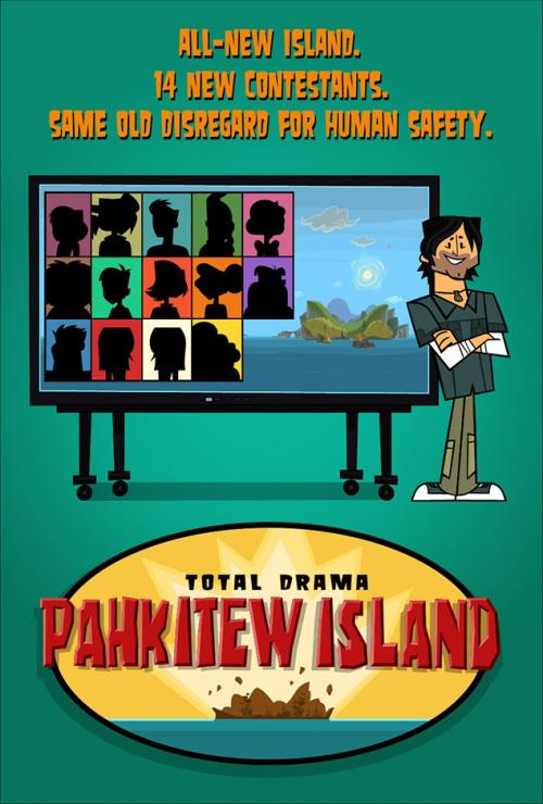 Total Drama Pahkitew Island Poster