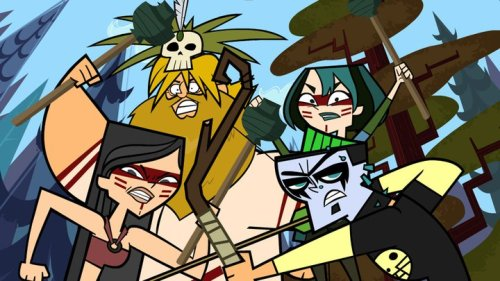 Gwen Owen Heather Duncan Camp Castaways Total Drama Island Final Four Cuatro Finalistas Isla del Drama