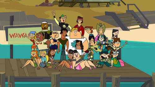 Total Drama Island - Campistas No Tan Felices