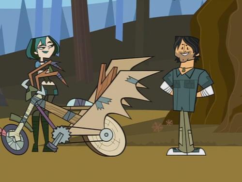 Gwen bicicleta